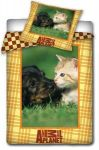 Pościel Animal Planet Kot i pies 160/200